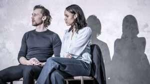 Tom Hiddleston & Zawe Ashton. Photo by Marc Brenner.