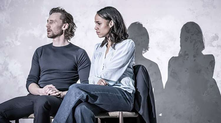 Tom Hiddleston & Zawe Ashton. Photo by Marc Brenner.