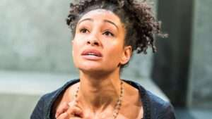 Natalie Simpson won the Ian Charleson award for her performance in The Cardinal at Southwark Playhouse. Photo: Tristram Kenton