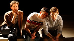Kyle Soller, Samuel H. Levine and Andrew Burnap in The Inheritance