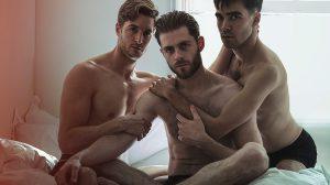 Danny Mahoney, Sean Hart and Jesse Fox. Photo Darren Bell