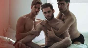 Danny Mahoney, Sean Hart and Jesse Fox. Photo Darren Bell