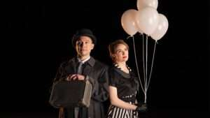 Gary Tushaw and Anna O'Byrne in Amour, Charing Cross Theatre