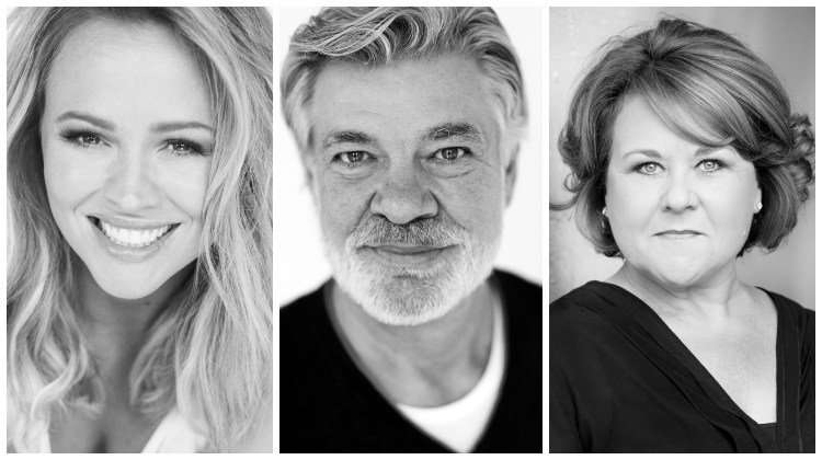 Kimberley Walsh, Matthew Kelly and Wendi Peters