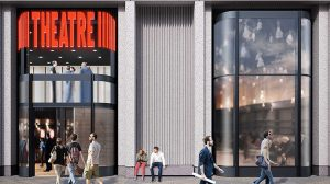 CGI Theatre Entrance at King's Cross - AHMM