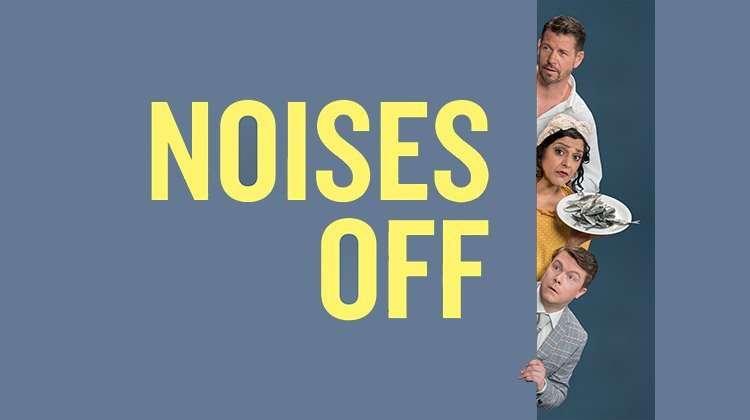 Lloyd Owen, Meera Syal & Daniel Rigby. Noises Off.