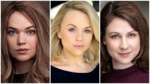 Cici Howells, Sophie Isaacs & Gemma Atkins