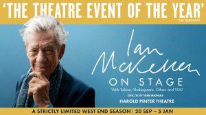 Ian McKellen On Stage in London