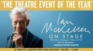 Ian McKellen On Stage in London