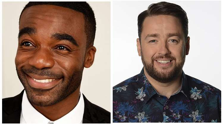 Ore Oduba and Jason Manford