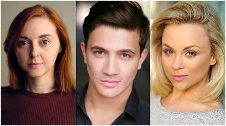 Evelyn Hoskins, Dean John-Wilson, Sophie Isaacs