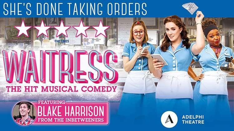 waitress, adelphi theatre