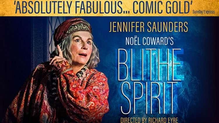 Jennifer Saunders, Blithe Spirit