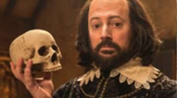 David Mitchell as William Shakespeare