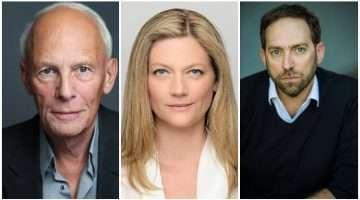 Paul Nicholas, Sophie Ward & Ben Caplan