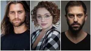 Bradley Jaden, Carrie Hope Fletcher & Jon Robyns