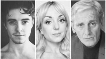 John Lumsden, Helen George, Sean Murray