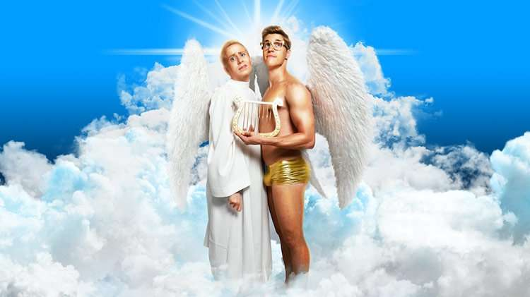 Photos by Steve Ullathorne | First look at devoted angels in new comedy 'An Act Of God'