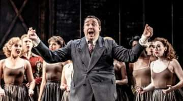 Jason Manford in Curtains musical