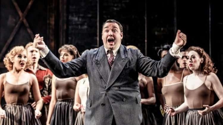 Jason Manford in Curtains musical