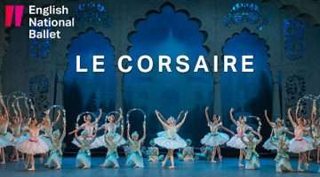 Le Corsiare, English National Ballet artwork