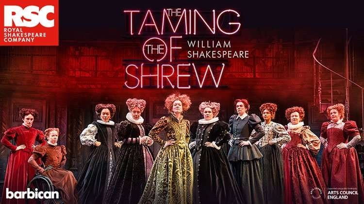 Image result for taming of shrew RSC 2020