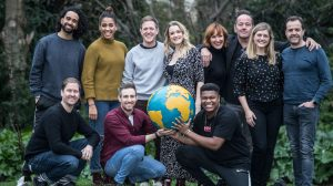 Come From Away London cast 2020