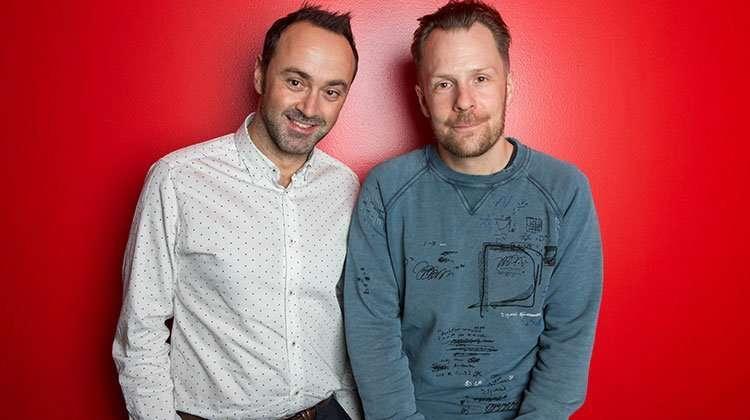 Chris Stafford and Nikolai Foster