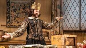 David Mitchell in The Upstart Crow.