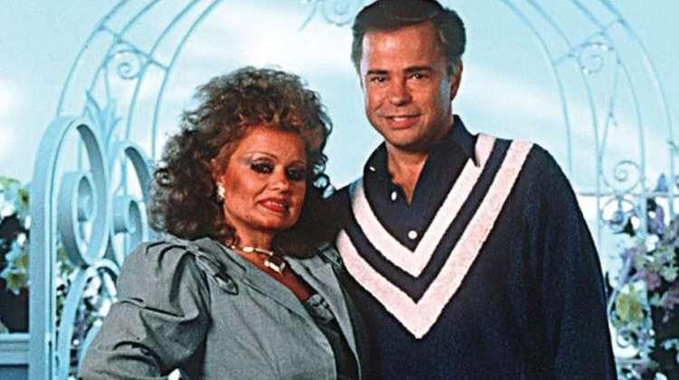 Tammy Faye & her husband Jim Bakker