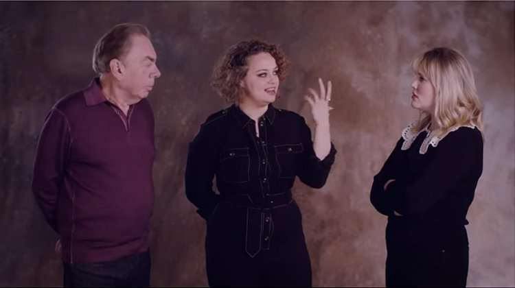 Andrew Lloyd Webber, Carrie Hope Fletcher Emerald Fennel
