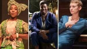 Ronke Adekoluejo, Hammed Animashaun and Heledd Gwynn