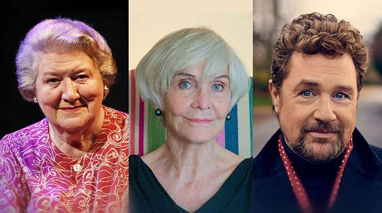 Patricia Routledge, Sheila Hancock and Michael Ball