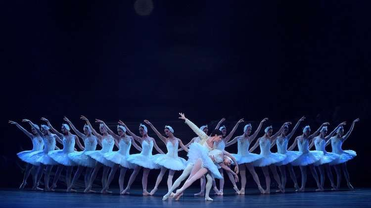 English National Ballet perform Derek Deane's Swan Lake