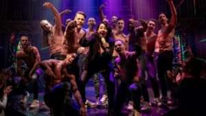 Samantha Baines and the cast of MAGIC MIKE LIVE