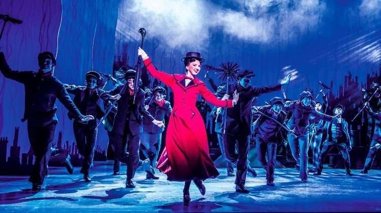 Zizi Strallen in Mary Poppins, London Show