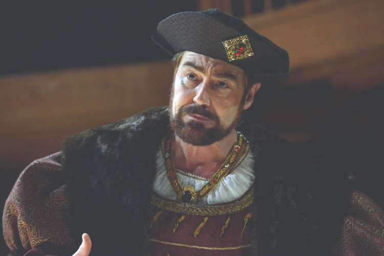 Nathaniel Parker as Henry VIII in Wolf Hall photo by Keith_Pattison