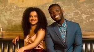 Courtney Stapleton and Emmanuel Kojo