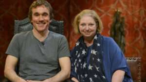 Actor Ben Miles and writer Hilary Mantel