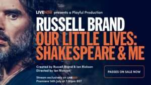 Russel Brand live stream