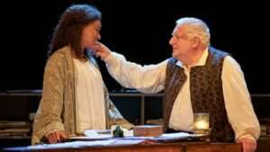 Racheal Ofori & Simon Russell Beale, Bach & Sons London Theatre Production