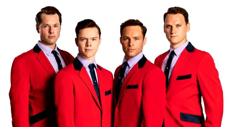 Jersey Boys cast, London Theatre Production