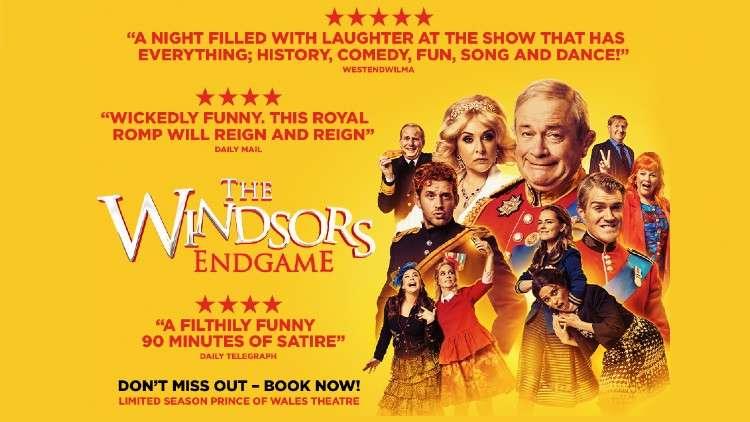 The Windsors: Endgame play London