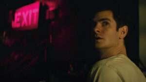 Actor Andrew Garfield in Tick Tick Boom