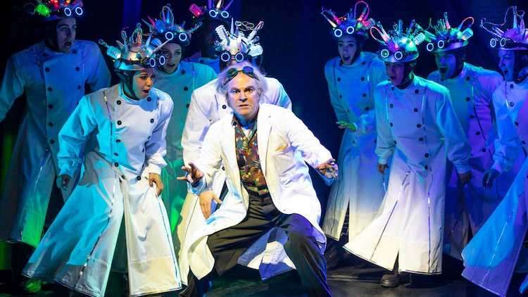 Back to the Future at the Adelphi Theatre