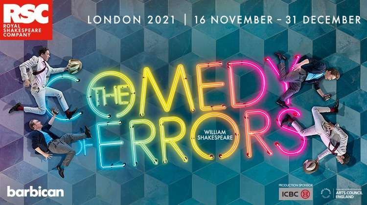 The Comedy of Errors, London Theatre Production