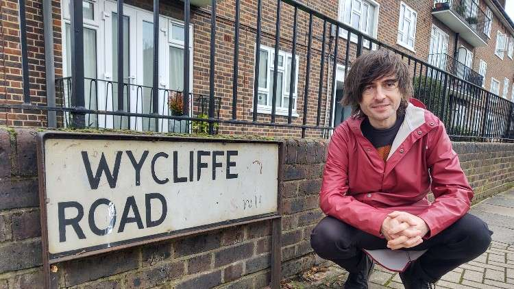 Danny Robins at Wycliffe Road