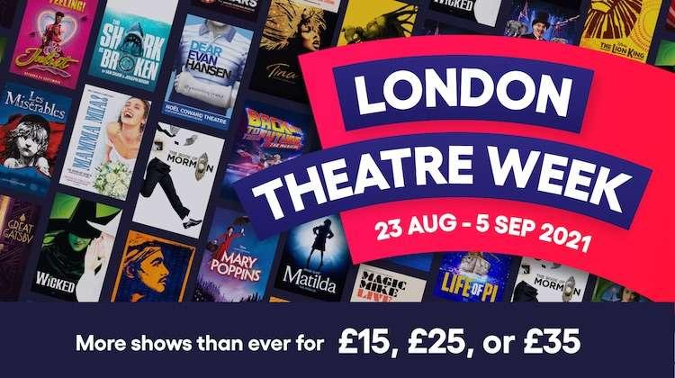 London Theatre Week 2021