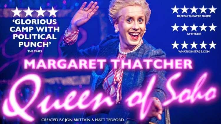 Margaret Thatcher Queen of Soho, London
