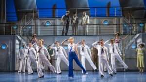 A scene from Anything Goes by Cole Porter @ Barbican. Theatre Directed and Choreographed by Kathleen Marshall. ©Tristram Kenton